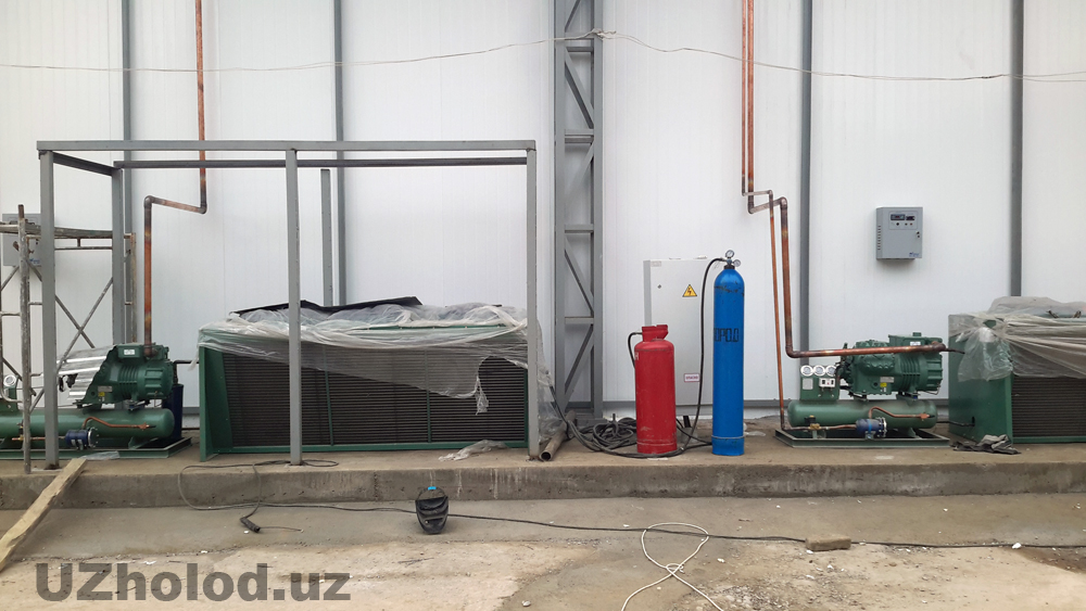 Монтаж холодильного оборудования в Ташкенте