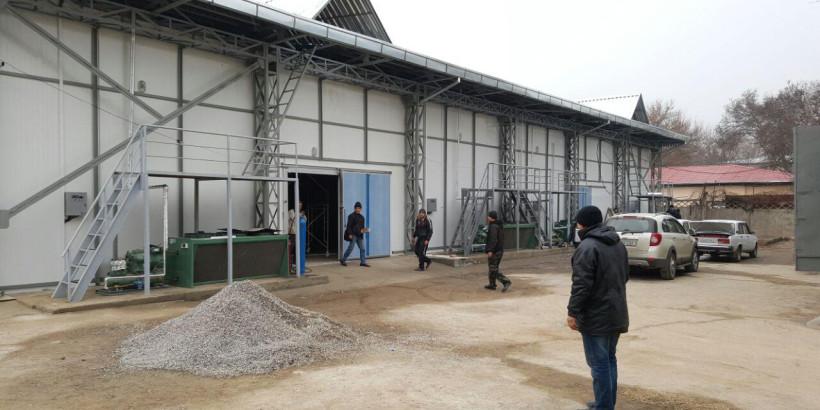 Монтаж холодильного оборудования для холодильной камеры/овощехранилища в Ташкенте