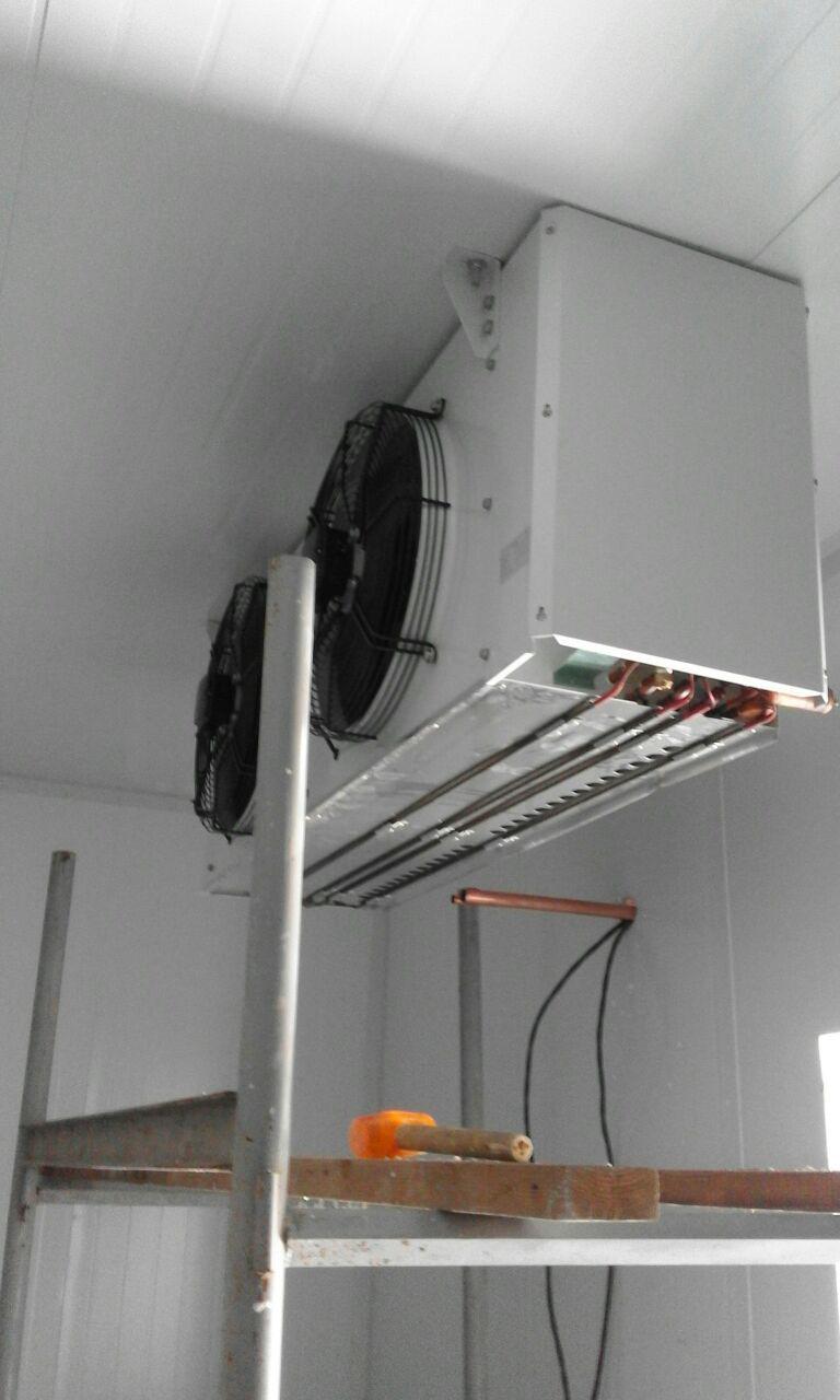 Монтаж воздухоохладителя
